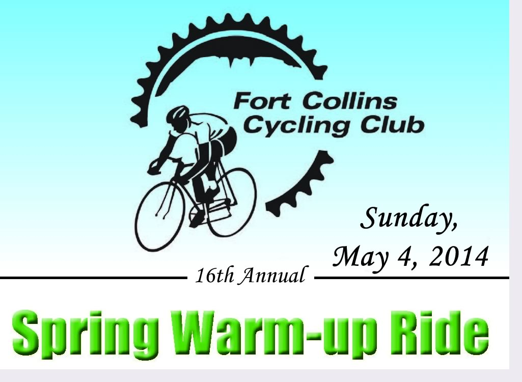 2014 Spring Warm-up Ride